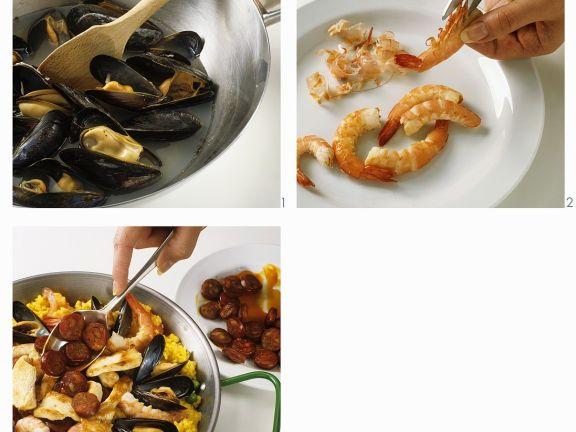 Seafood Rice Dish