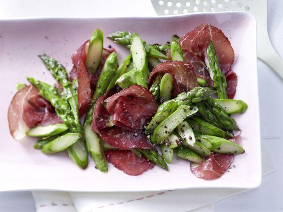 Pan-Roasted Green Asparagus