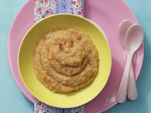 Papaya-Semolina Porridge