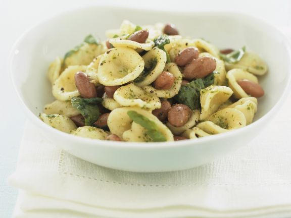 Pasta Ears with Arugula Pesto