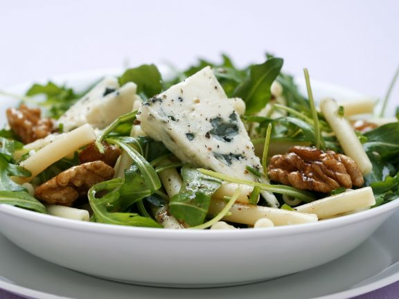 Pasta Salad with Arugula and Blue Cheese