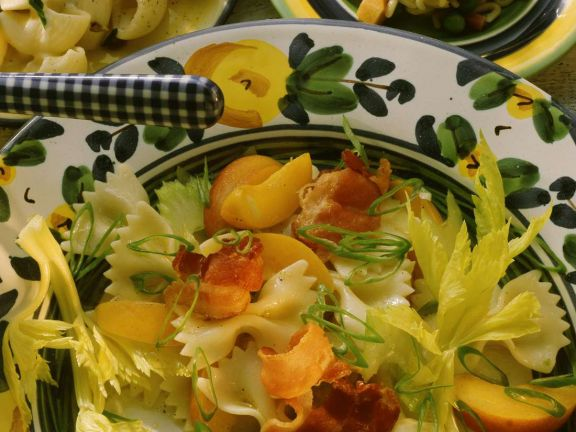 Pasta Salad with Fruit and Bacon