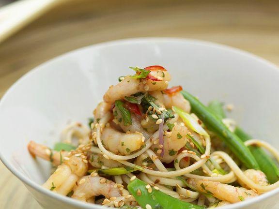 Pasta Salad with Shrimp