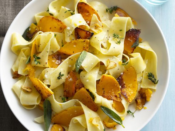 Pasta with Pumpkin and Sage