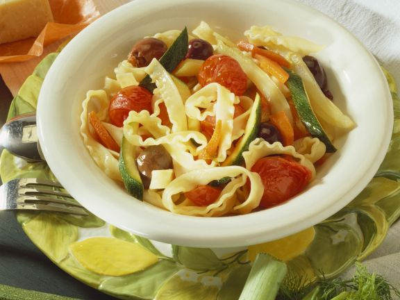 Pasta with Summer Vegetables