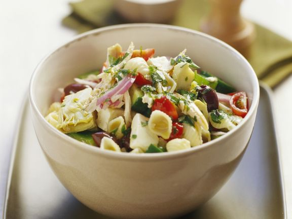 Pasta with Summer Vegetables and Mint