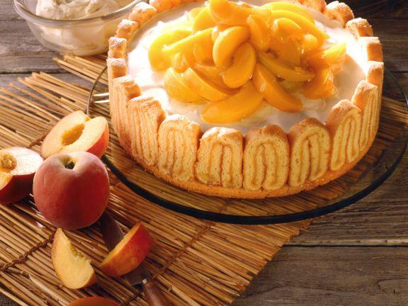 Peach Mascarpone Torte
