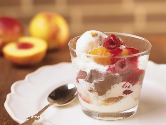 Peach Sundaes