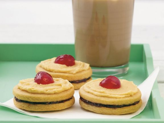 Peanut Butter Jelly Biscuits