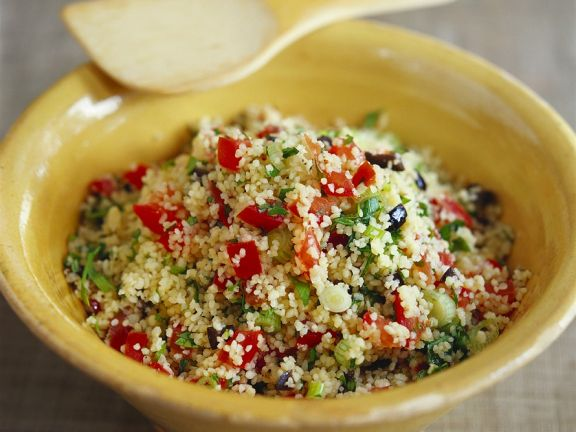 Pepper and Onion Couscous