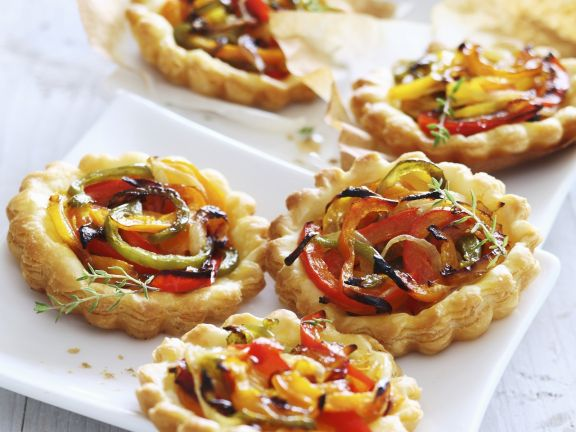 Pepper Tartlets