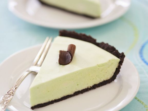 Peppermint and Marshmallow Tart