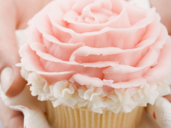 Pink Almond Paste Cakes