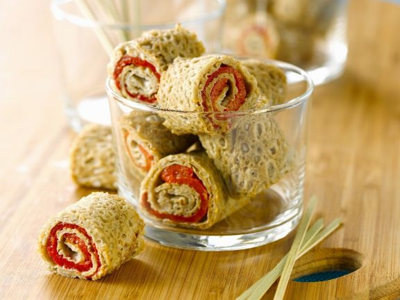 Piquant Buckwheat Roulades
