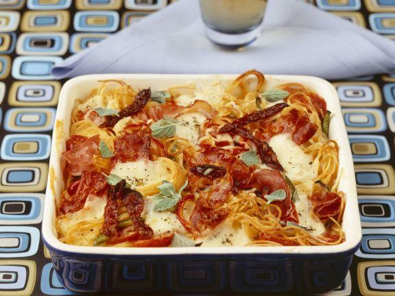 Pizza-Pasta Bake