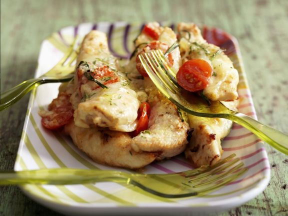 Pizza-style Chicken Breasts