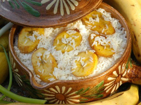 Plantain Rice Dish