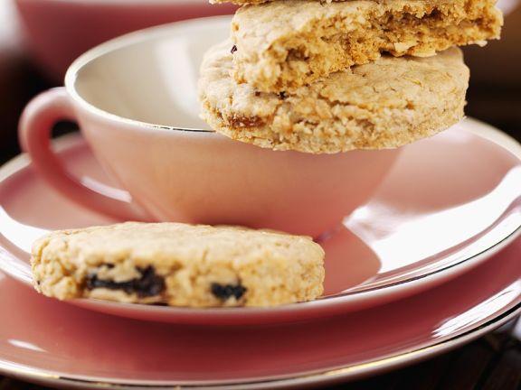 Plum Oatmeal Cookies