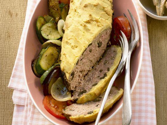 Polenta-Covered Meatloaf