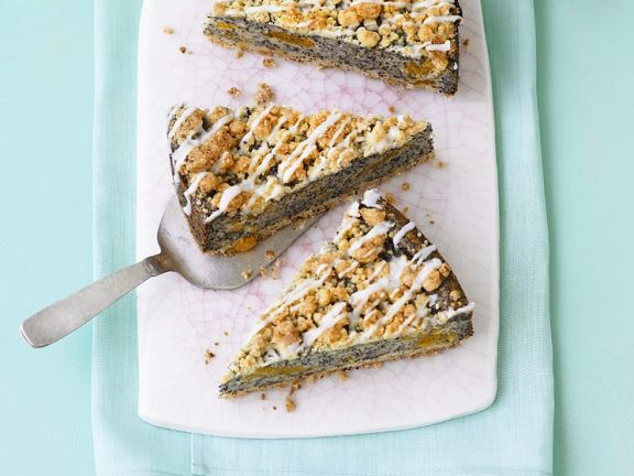Poppy Orange Cake with Streusel