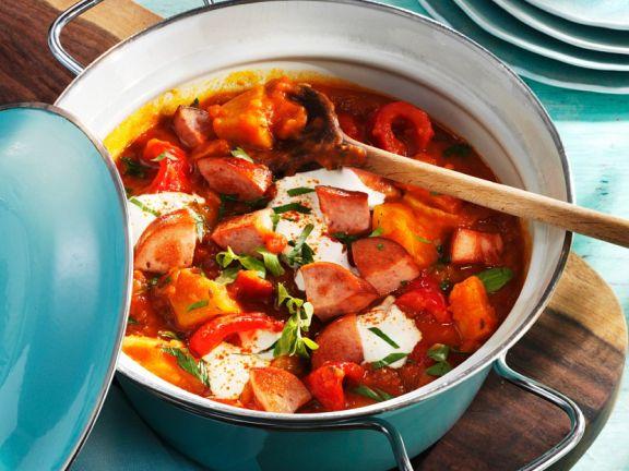 Pork and Creme Fraiche Stew