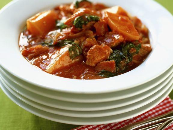 Pork and Tomato Goulash