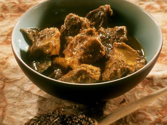 Spicy Indian Pork Leg