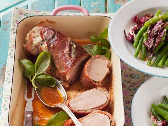 Pork Tenderloin with Prosciutto