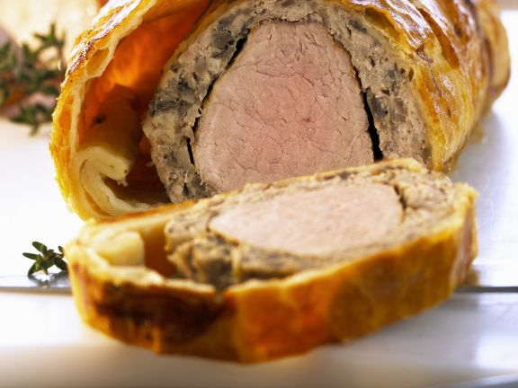 Pork wellington recipe