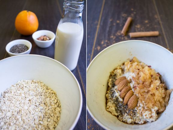 Oats with Winter Fruit