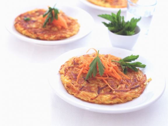 Potato and Carrot Rosti