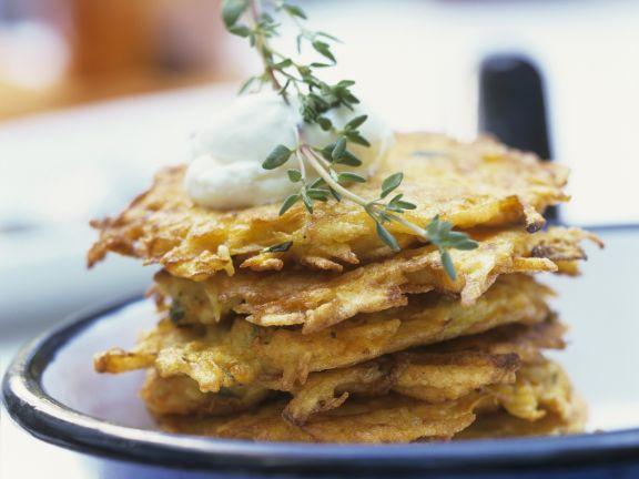 Potato and Pumpkin Pancakes