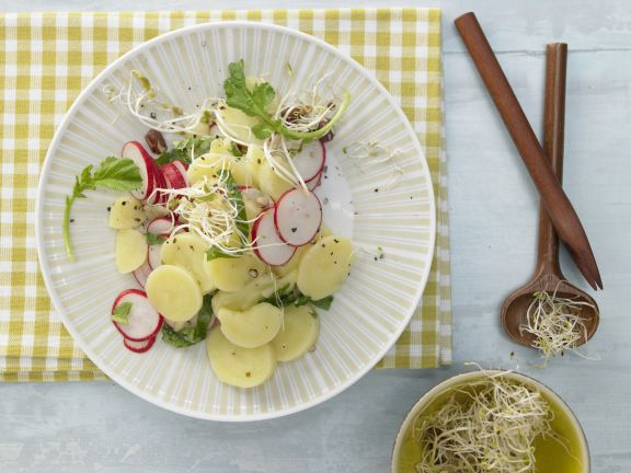 Potato and Radish Salad