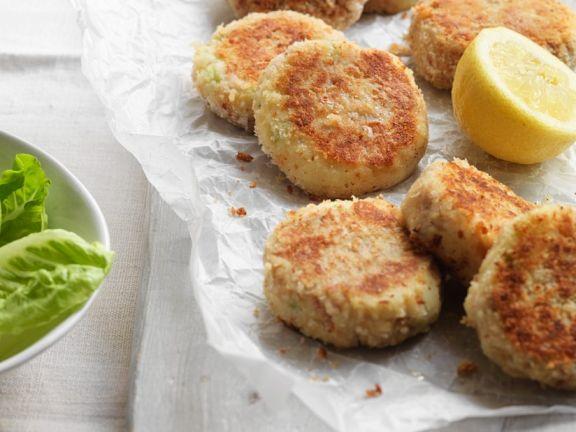 Potato and Tuna Fritters