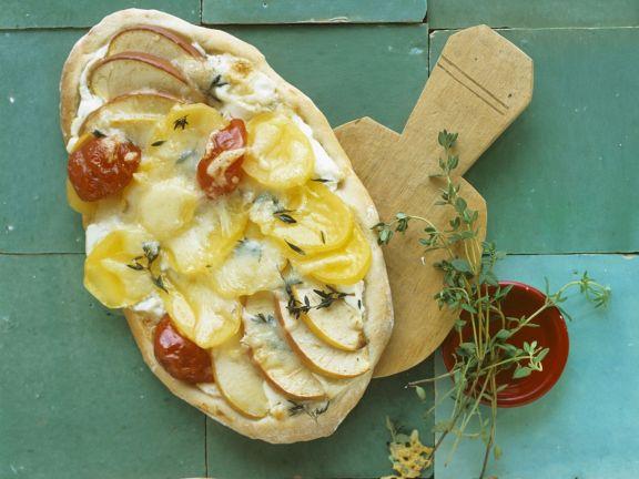 Potato Apple Pizzas