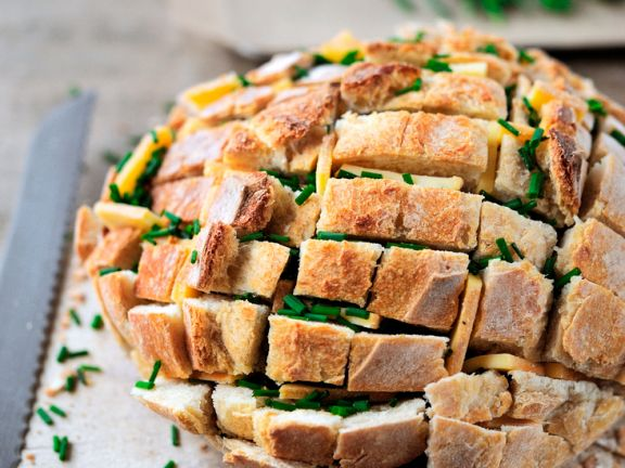 Potato Bread with Chives and Cheese