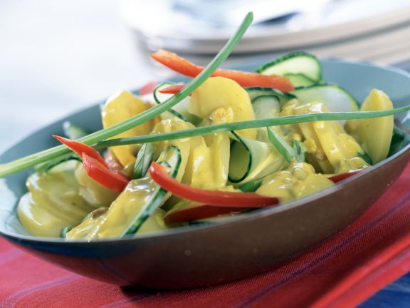 Potato Cucumber Salad