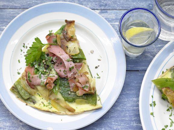 Potato Dish with Prosciutto