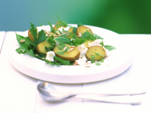 Potato, Feta and Herb Salad