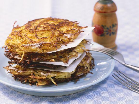 Potato Rosti Cakes