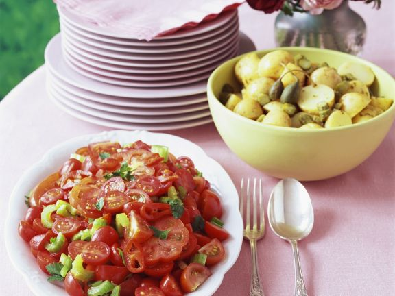 Potato Salad with Capers