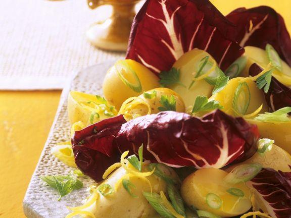 Potato Salad with Radicchio
