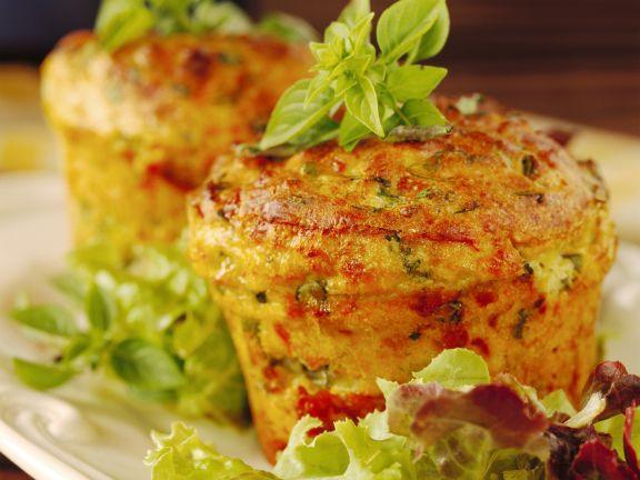 Potato Soufflee with Herbs