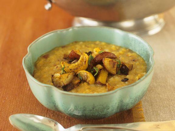 Potato Soup with Lentils