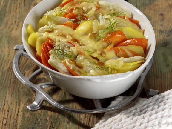 Potato Vegetable Gratin