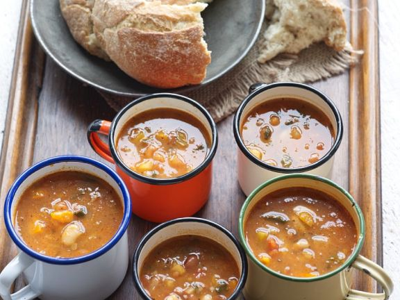 Potato-vegetable Soup