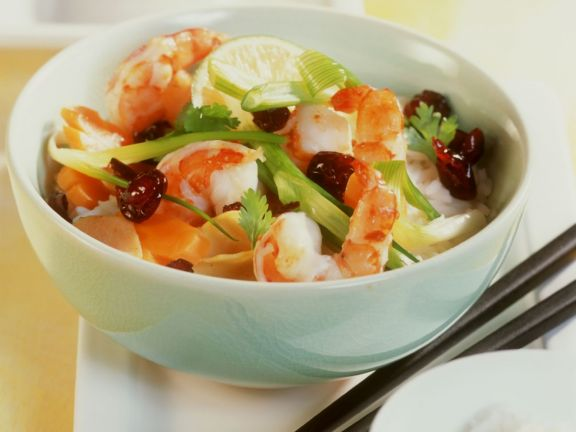 Prawn and Coconut Rice