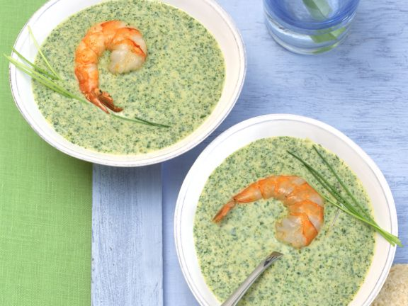 Prawn Soup with Herbs