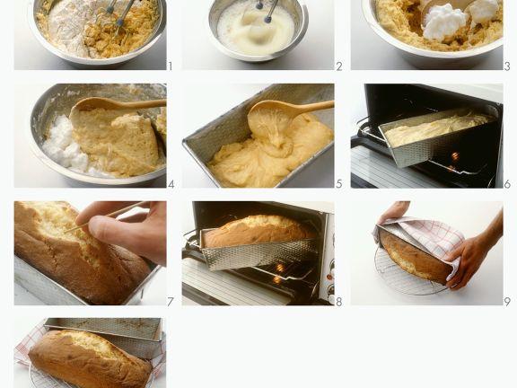 Preparing a Sponge Cake