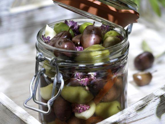 Preserved Mediterranean Olives